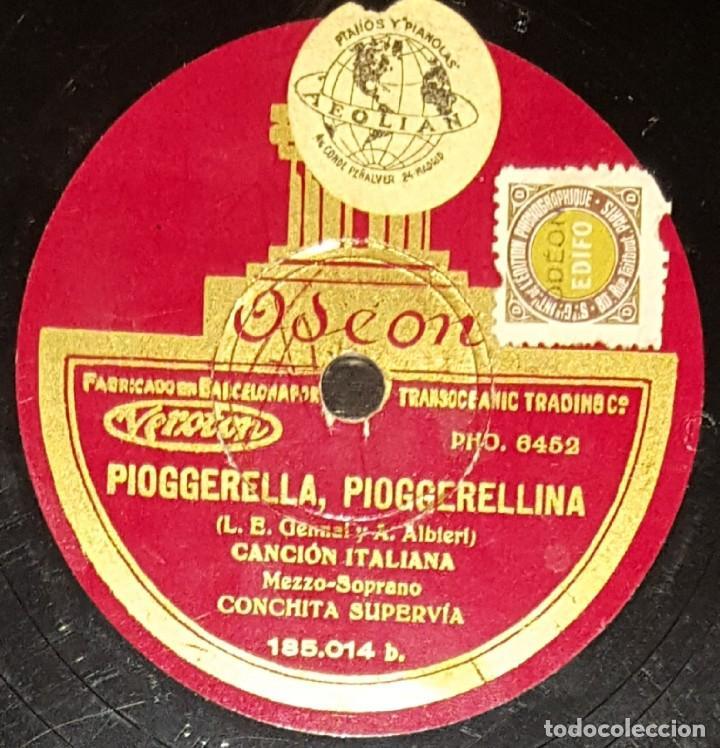 Discos de pizarra: DISCOS 78 RPM - CONCHITA SUPERVÍA - MEZZOSOPRANO - CANCIÓN ITALIANA - PIZARRA - Foto 2 - 135201862