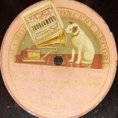 Discos de pizarra: DISCOS 78 RPM - ENRICO CARUSO - TENOR - ÓPERA - CAVALLERIA RUSTICANA - BRINDISI - MASCAGNI - PIZARRA. Lote 135258794