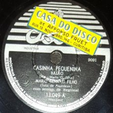 Discos de pizarra: DISCOS 78 RPM - MARIO GENNARI FILHO - ACORDEÓN - ORQUESTA - BRASIL - BAIAO - SAMBA - PIZARRA. Lote 135394386