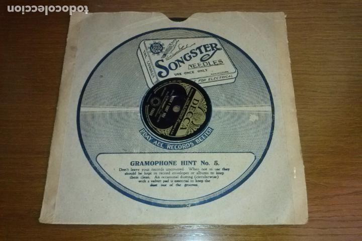 Discos de pizarra: Pizarra - Bing Crosby - When Youre A Long, Long Way From Home - Year 1951 - Edition Australian - Foto 2 - 135584038