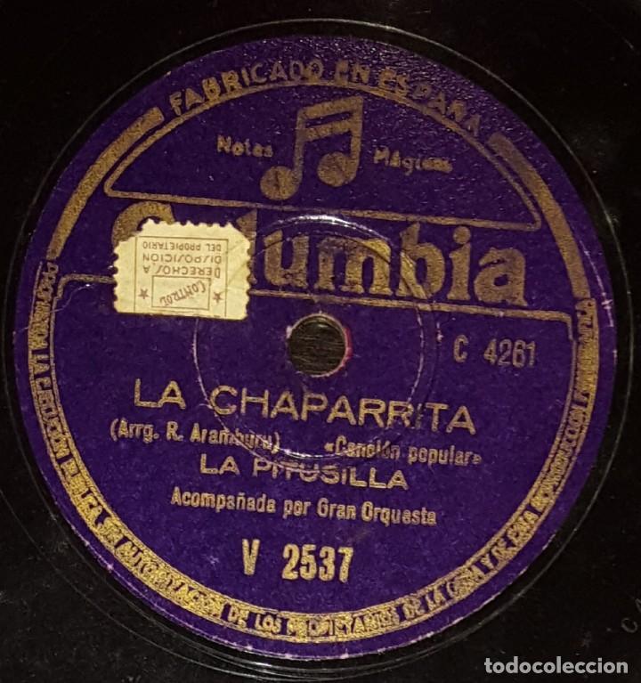 DISCOS 78 RPM - LA PITUSILLA - ORQUESTA - ASTURIAS - POPULAR - LA CHAPARRITA - TIROLI - PIZARRA (Música - Discos - Pizarra - Flamenco, Canción española y Cuplé)
