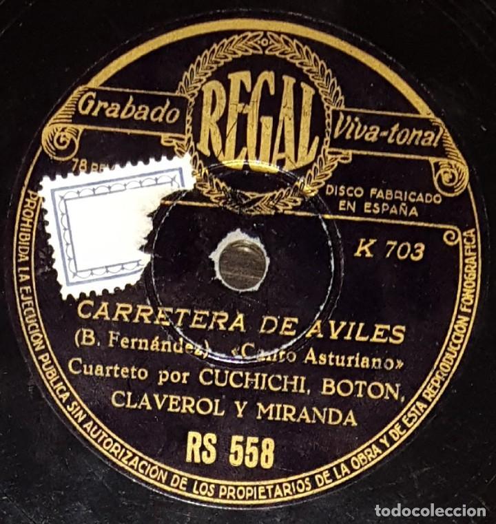 Discos de pizarra: DISCOS 78 RPM - CUCHICHI, BOTÓN, CLAVEROL, MIRANDA - CUARTETO - ASTURIAS - AÑADA - PIZARRA - Foto 2 - 135874842