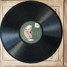 Discos de pizarra: DISCO DE PIZARRA ADELITA LULU BAJO LA DIRECCION DEL MAESTRO GELABERT. Lote 136029830