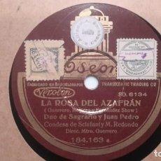 Discos de pizarra: MOLINOS DE VIENTO. - PANADES Y GONZALO - ODEON DISCO 3 . Lote 136247054