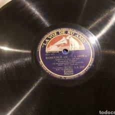 Discos de pizarra: DISCOS 78 RPM CONCHITA PIQUER. Lote 136251230