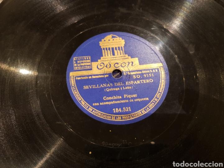 DISCOS 78 RPM CONCHITA PIQUER (Música - Discos - Pizarra - Flamenco, Canción española y Cuplé)