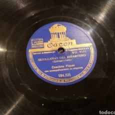 Discos de pizarra: DISCOS 78 RPM CONCHITA PIQUER. Lote 136251384