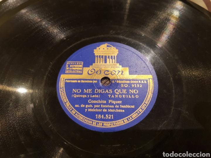 Discos de pizarra: DISCOS 78 RPM CONCHITA PIQUER - Foto 2 - 136251384