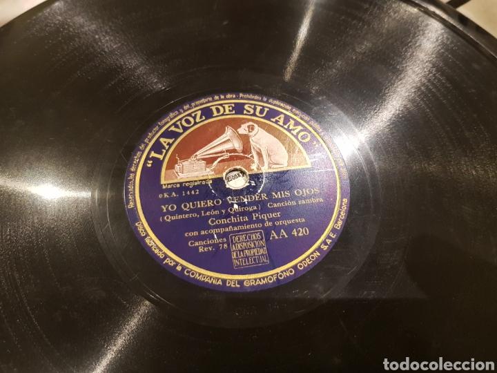 DISCOS 78 RPM CONCHA PIQUER (Música - Discos - Pizarra - Flamenco, Canción española y Cuplé)