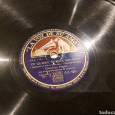 Discos de pizarra: DISCOS 78 RPM CONCHA PIQUER. Lote 136251558