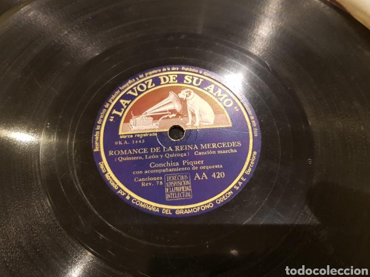 Discos de pizarra: DISCOS 78 RPM CONCHA PIQUER - Foto 2 - 136251558