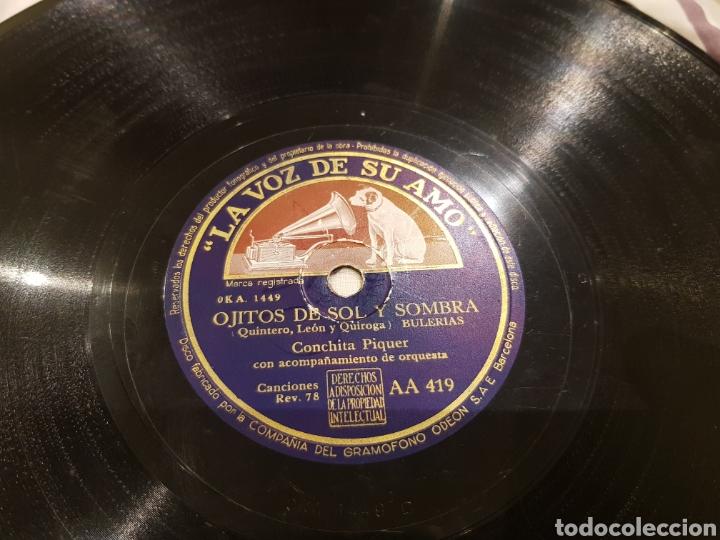 Discos de pizarra: DISCOS 78 RPM - Foto 2 - 136252056