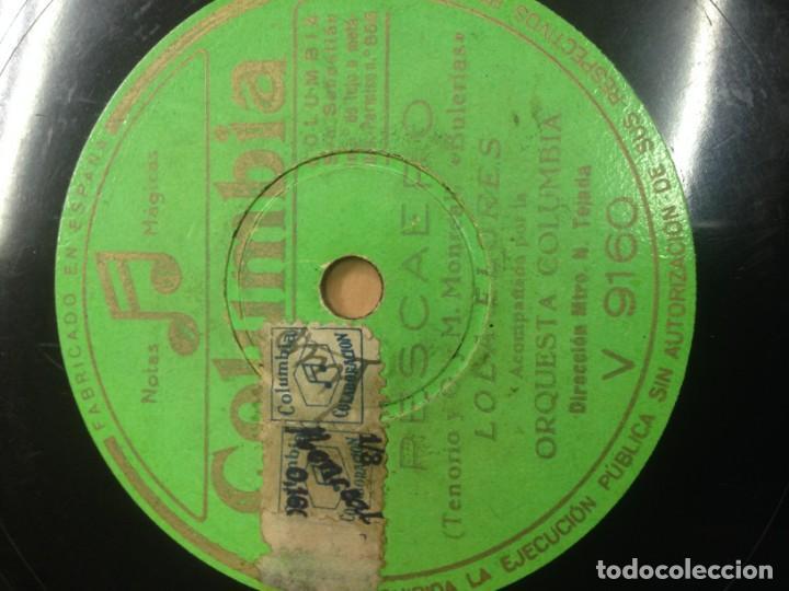 Discos de pizarra: DISCO PIZARRA LOLA FLORES CUATRO SEVILLANAS DE BAILE EDITADO POR COLUMBIA - Foto 2 - 136482538