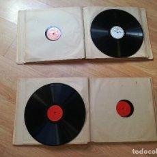 Discos de pizarra: 14 DISCOS DE PIZARRA PARA GRAMOFONO. BEETHOVEN. Lote 136896214