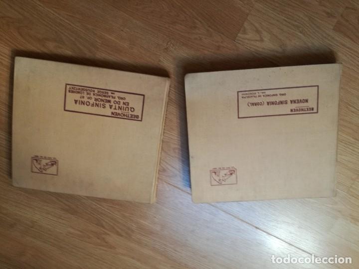 Discos de pizarra: 14 Discos de pizarra para Gramofono. Beethoven - Foto 2 - 136896214