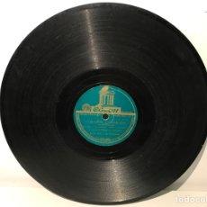 Discos de pizarra: DISCO DE PIZARRA ODEON CORAZÓN CAMARADA- BUSCÁNDOTE. Lote 137501872