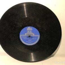 Discos de pizarra: DISCO DE PIZARRA ODEON EL ALCALDE DE ZALAMEA- ORIENTAL. Lote 137502674