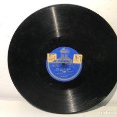 Discos de pizarra: DISCO DE PIZARRA ODEON EL CASERÍO. Lote 137502900