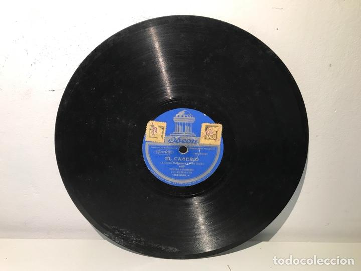 Discos de pizarra: Disco de pizarra ODEON El Caserío - Foto 2 - 137502900