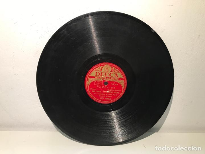 DISCO PIZARRA DECCA RING CROSBY Y THE ANDREWS SISTERS (Música - Discos - Pizarra - Otros estilos)