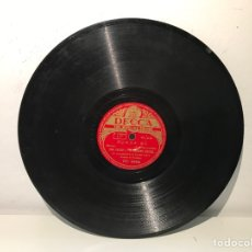 Discos de pizarra: DISCO PIZARRA DECCA RING CROSBY Y THE ANDREWS SISTERS. Lote 137506318