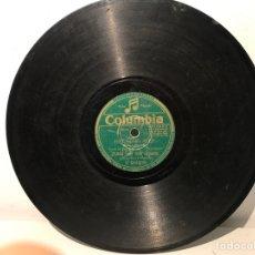 Discos de pizarra: DISCO DE PIZARRA COLUMBIA V9428. Lote 137517566