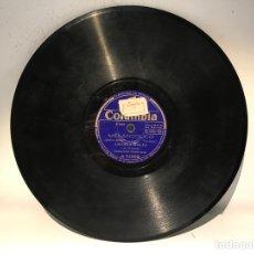 Discos de pizarra: DISCO DE PIZARRA COLUMBIA A 5069. Lote 137517754
