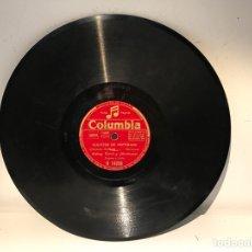 Discos de pizarra: DISCO DE PIZARRA COLUMBIA R14286. Lote 137517953