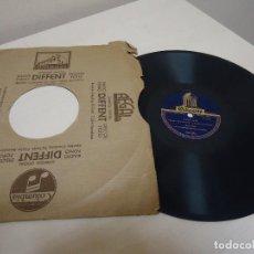 Discos de pizarra: JOTAS ARAGONESAS -JOSE SOTO- TIENE LA JOTA MAS AIRE ACOMP DE RONDALLA -184,383.ODEON . Lote 137635602