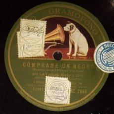 Discos de pizarra: DISCOS 78 RPM - LA YANKEE - ALADY - NENA RUBENS - CORO - CHARLESTÓN - CÓMPRAME UN NEGRO - PIZARRA. Lote 138051542