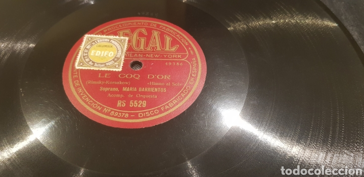 DISCOS 78 RPM (Música - Discos - Pizarra - Flamenco, Canción española y Cuplé)