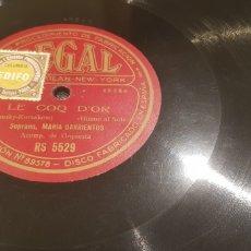 Discos de pizarra: DISCOS 78 RPM. Lote 138244445