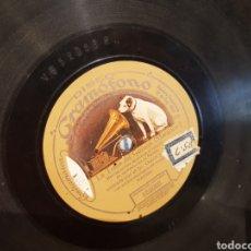 Discos de pizarra: DISCOS 78 RPM CANTOS ASTURIANOS Y MARCHA MILITAR. Lote 138943821