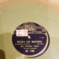 Discos de pizarra: DISCOS 78 RPM. Lote 139097685
