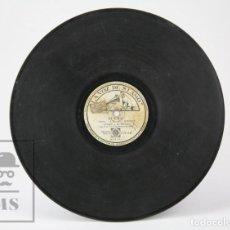 Discos de pizarra: DISCO PIEDRA / PIZARRA - PARA BAILAR EL BUGUI / SUEÑO. HERMANAS RUSSELL / ALBALAT - LA VOZ DE SU AMO. Lote 139192462