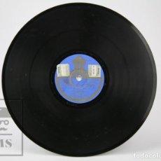 Discos de pizarra: DISCO DE PIEDRA / PIZARRA - GINESTA / LA JAVA DEL CARRER. ENRIQUETA SERRANO - ODEON. Lote 139262310