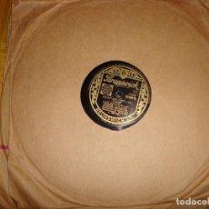 Discos de pizarra: LOUIS ARMSTRONG & ERSKINE TATE & HIS VENDOME ORCHESTRA. BRUNSWICK. 10 PULG. EDC. INGLESA. PIZARRA. Lote 139339734