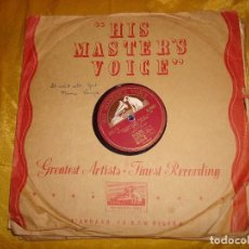 Discos de pizarra: JIMMY YANCEY. STATE STREET SPECIAL / TELL´EM ABOUT ME. 10 PULG. HIS MASTER´S VOICE. PIZARRA. Lote 139447938
