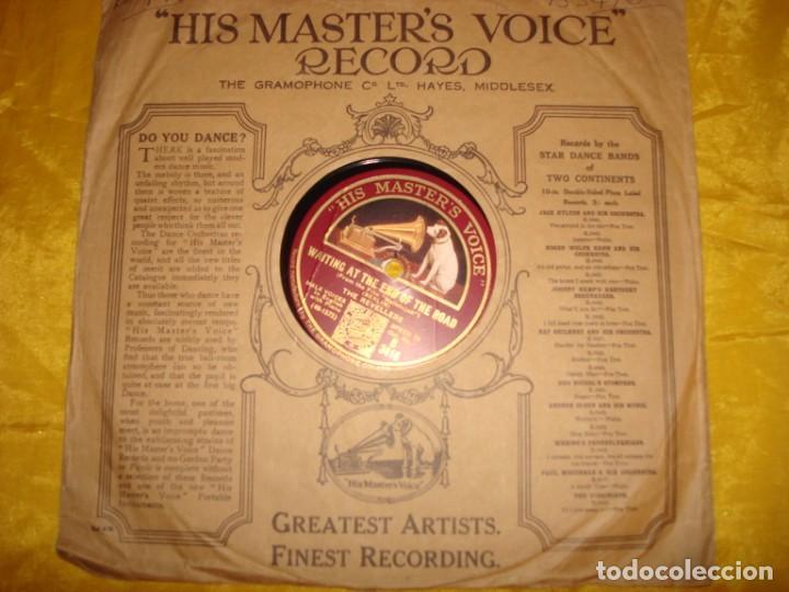 THE REVELLERS. KENTUCKY BABE + 1. HIS MASTER´S VOICE. 10 PULG. PIZARRA. EDC. INGLESA. IMPECABLE (Música - Discos - Pizarra - Solistas Melódicos y Bailables)