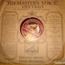 Discos de pizarra: THE REVELLERS. KENTUCKY BABE + 1. HIS MASTER´S VOICE. 10 PULG. PIZARRA. EDC. INGLESA. IMPECABLE. Lote 139453558