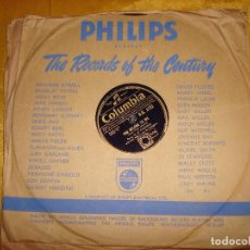 Discos de pizarra: JO STAFFORD. YOU BELONG TO ME / PRETTY BOY. COLUMBIA. EDC. INGLESA. 10 PULG. PIZARRA. Lote 139455534