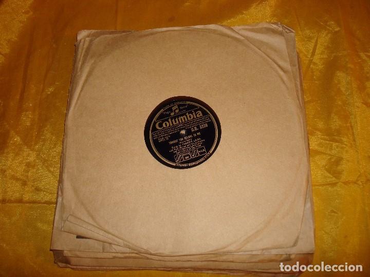 FRANKIE LAINE. TONIGHT YOU BELONG TO ME + 1. COLUMBIA. EDC. INGLESA. 10 PULG. PIZARRA. IMPECABLE (Música - Discos - Pizarra - Jazz, Blues, R&B, Soul y Gospel)