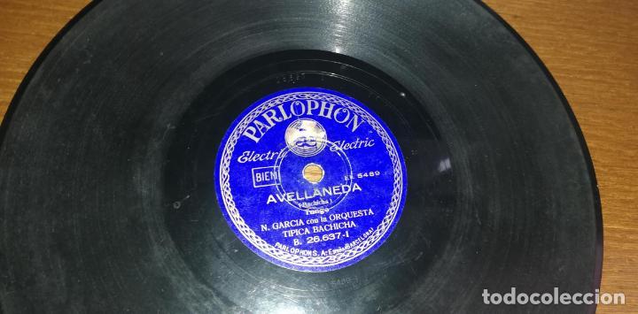 PIZARRA - N. GARCIA CON LA ORQUESTA TÍPICA BACHICHA / N. GARCIA Y ROBERTO MAIDA - AVELLANEDA/BÉSAME (Música - Discos - Pizarra - Otros estilos)