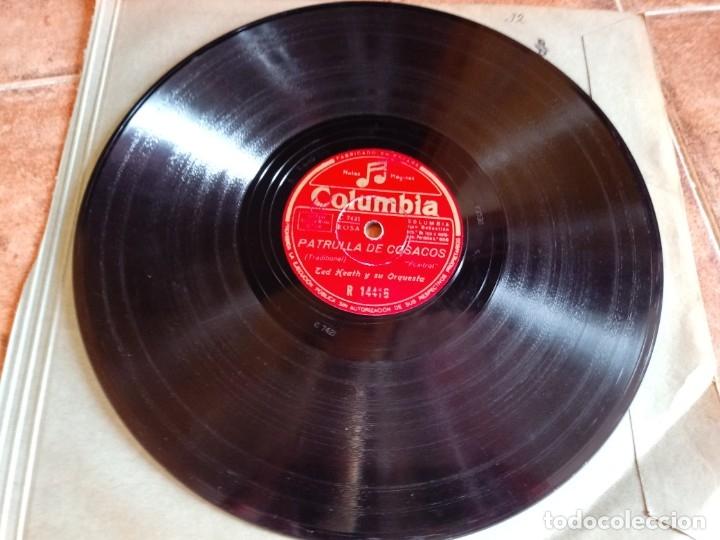 TED HEATH PENSANDO EN TI / PATRULLA DE COSACOS DISCO PIZARRA 10 PULGADAS COLUMBIA ESPAÑA 2 TEMAS (Música - Discos - Pizarra - Jazz, Blues, R&B, Soul y Gospel)