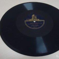 Discos de pizarra: CARLOS GARDEL -COMP DE ORQUESTA -INCURABLE TANGO-CONFESION TANGO-ODEON . Lote 140062998