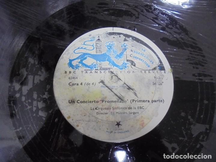 Discos de pizarra: DISCO. GRAN TAMAÑO. BRITISH BROADCASTING CORPORATION. UN CONCIERTO PROMENADE 1º PARTE. VER - Foto 2 - 140072594