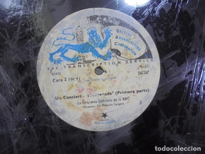 Discos de pizarra: DISCO. GRAN TAMAÑO. BRITISH BROADCASTING CORPORATION. UN CONCIERTO PROMENADE 1º PARTE. VER - Foto 3 - 140072594