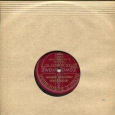 Discos de pizarra: ANTONIO POZO (MOCHUELO) JOTAS NUEVAS Nº 1 / JOTAS Nº 3 (ZONOPHONE 552.081 - 2). Lote 140293246