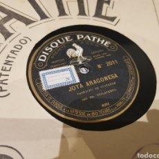 Discos de pizarra: DISCOS 78 RPM JOTA ARAGONESA. Lote 140568810