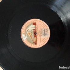 Discos de pizarra: DISCO PIZARRA GRAMÓFONO PAGLIACCI (LEONCAVALLO). Lote 140989030
